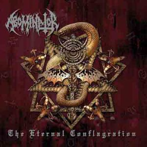 ABOMINATOR - The eternal conflagration LP DTR EX-/EX-