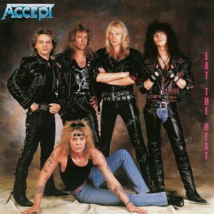 ACCEPT - Eat the heat CD REMASTERED
