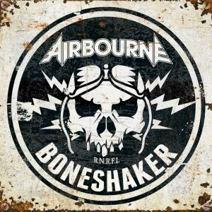 AIRBOURNE - Boneshaker LP LTD IVRY COLOURED VINYL