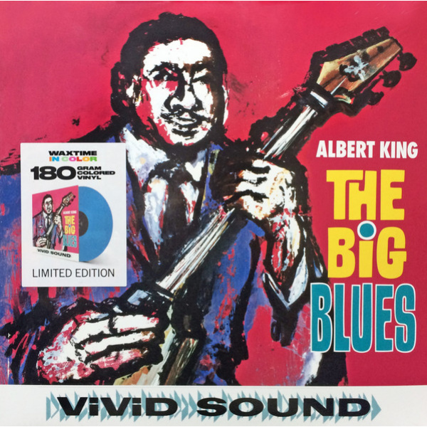 ALBERT KING - The Big Blues LP UUSI Waxtime In Colour