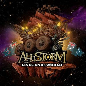 ALESTORM - Live At The End Of The World DVD+CD