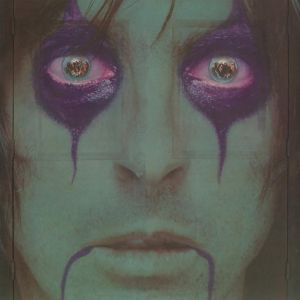 ALICE COOPER - From The Inside LP UUSI Warner LTD Green/Black Swirl vinyl