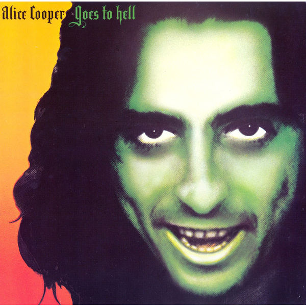 ALICE COOPER - Goes To Hell LP UUSI Warner LTD ORANGE vinyl