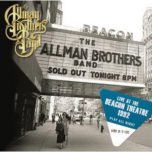 ALLMAN BROTHERS - Live At The Beacon Theatre 1992 – Play All Night 2CD