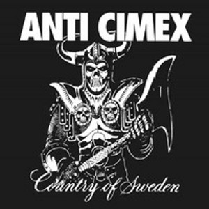 ANTI CIMEX - Absolut Country of Sweden BLACK VINYL LP Svart Records