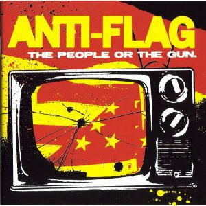 ANTI-FLAG - The people or the gun LP Side one dummy