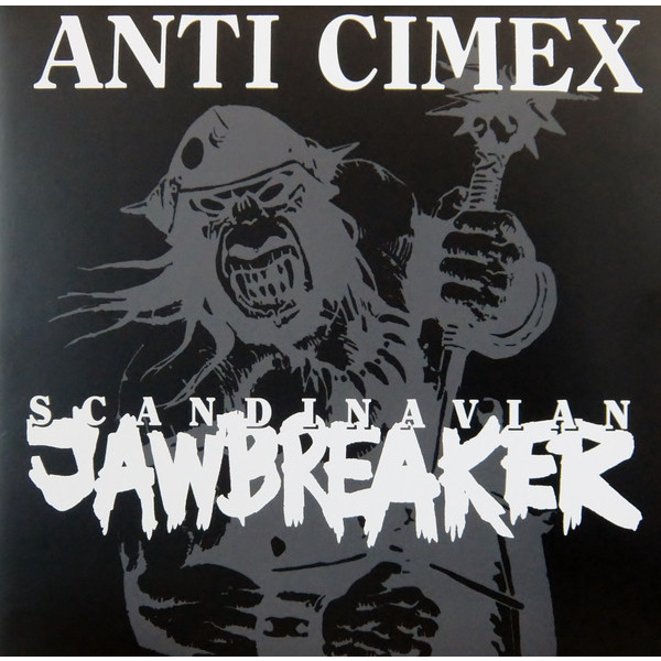 ANTI CIMEX - Scandinavian Jawbreaker LP UUSI Back On Black LTD colour vinyl