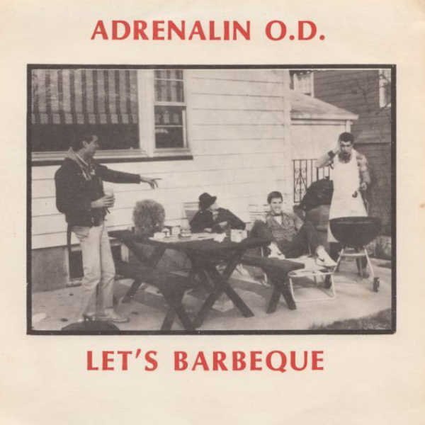"ADRENALIN O.D. - Let's Barbeque 12"" MLP UUSI LTD 1000 Millennium Edition/Rsd Usa 2019"
