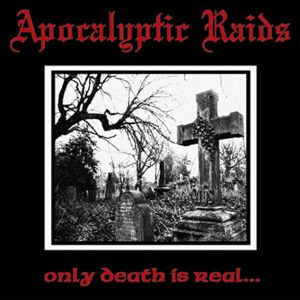 APOKALYPTIC RAIDS - Only Death is real LP HH LTD RED vinyl