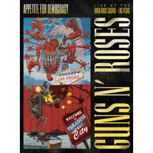 GUNS N` ROSES - Appetite For Democracy: Live at the Hard Rock Casino L.a. 2CD+DV