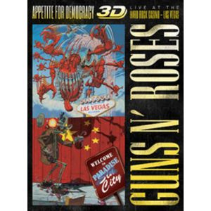 GUNS N` ROSES - Appetite For Democracy: Live at the Hard Rock Casino L.a. Blu-ra
