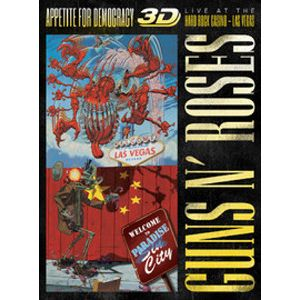 GUNS N` ROSES - Appetite For Democracy: Live at the Hard Rock Casino 2CD+ Blu-ra