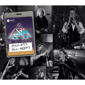 ASIA - Access All Areas CD+DVD