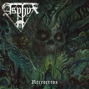 ASPHYX - Necroceros LP LTD 200 GREY vinyl