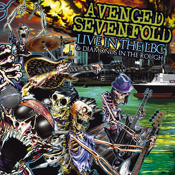 AVENGED SEVENFOLD - Live in the LBC/Diamonds in Rough CD+DVD