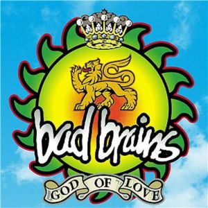 BAD BRAINS - God of Love LP LTD 1000 NUMBERED ON COLOURED TRANSPARENT GREEN & SOLID YELLOW MIXED