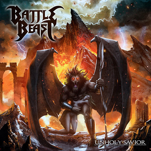 BATTLE BEAST - Unholy Savior LP UUSI Nb