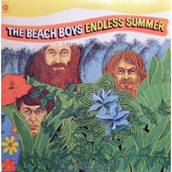 BEACH BOYS - Endless summer 2-LP Capitol UUSI M/M