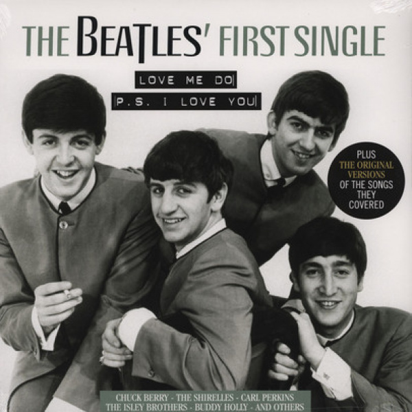 V/A - The Beatles First single/Orig versions they cover LP Vinyl Passion UUSI
