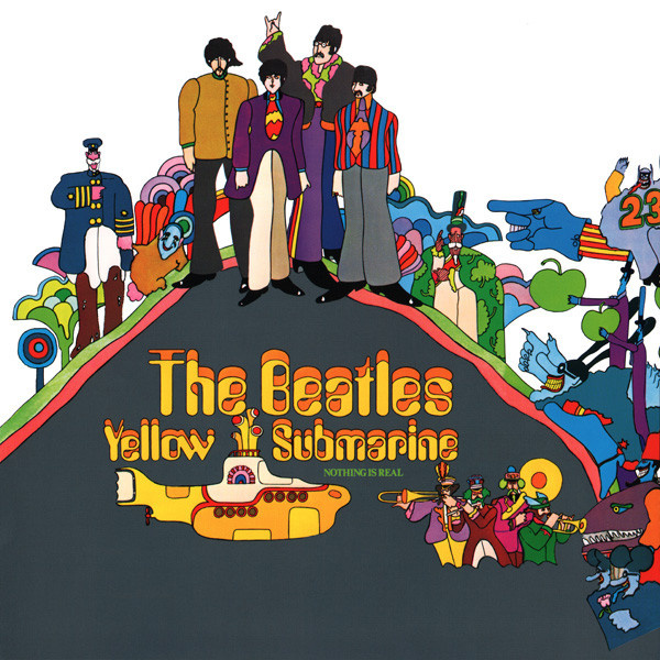 BEATLES - Yellow submarine LP Emi UUSI REMASTERED