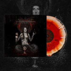 BEHEXEN - Nightside Emanations LP  Debemur Morti Productions reissue tri-colour heavy vinyl with splatters
