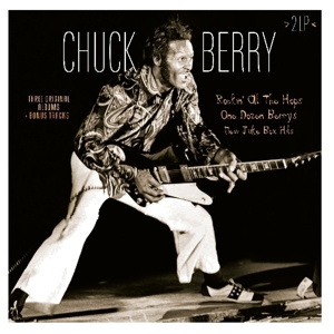 CHUCK BERRY - Rockin'at the Hops/One Dozen Berrys/New Juke Box Hits 2LP UUSI Vinyl Passion