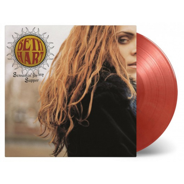 BETH HART - SCREAMIN' FOR MY SUPPER 2LP UUSI LTD NUMBERED 1500 COLOUR VINYLS