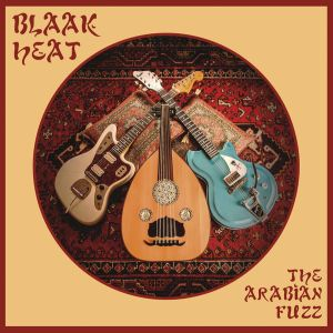 BLAAK HEAT  - The Arabian Fuzz 7-INCH Svart