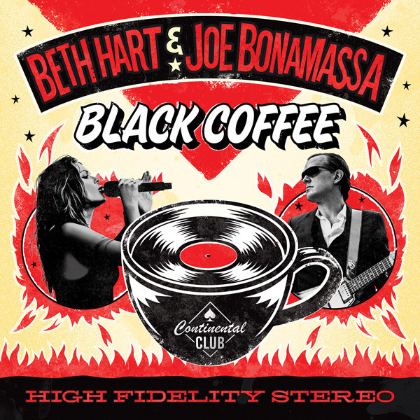 HART BETH / JOE BONAMASSA - Black Coffee CD LTD EDITION