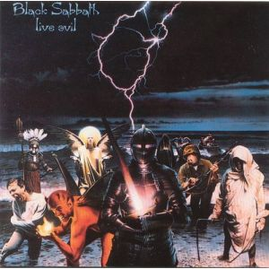 BLACK SABBATH - Live evil CD