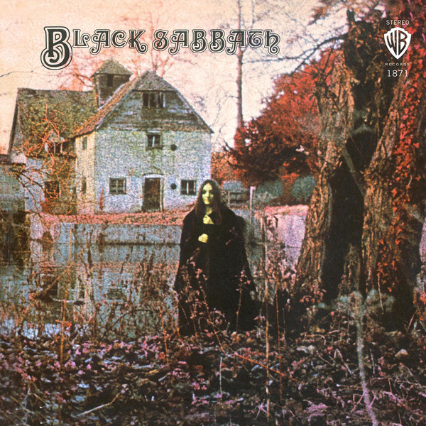 BLACK SABBATH - Black Sabbath LP UUSI Warner Rhino