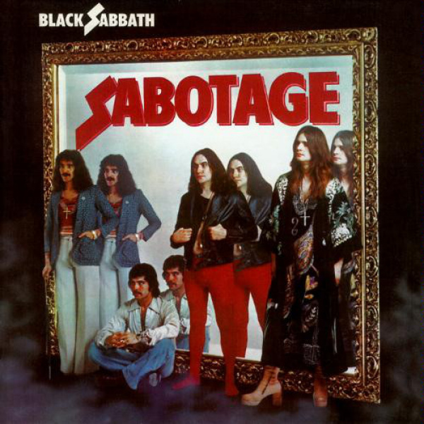 BLACK SABBATH - Sabotage LP UUSI Warner Rhino