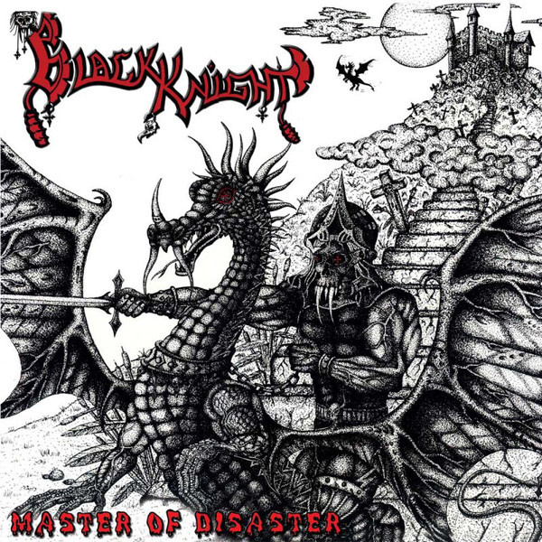 BLACK KNIGHT - Master of Disaster 2LP UUSI Cult Metal Classics BLACK