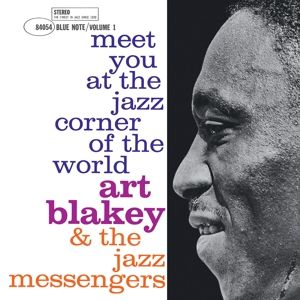 BLAKEY ART - Meet You At the Jazz Corner of the World Vol.1 LP Blue Note