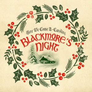 "BLACKMORE'S NIGHT - Here We Come A-Caroling 10"" UUSI LTD 2000 GREEN vinyl"