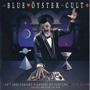 BLUE ÖYSTER CULT - Agents of fortune 40th anniversay - Live 2016  CD+DVD