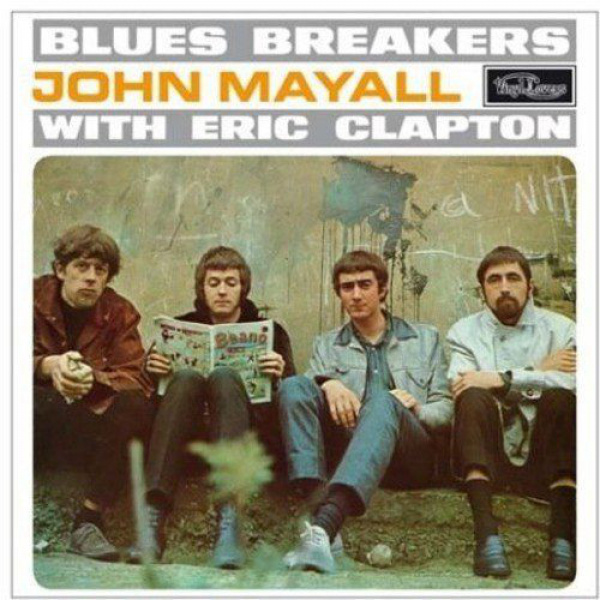 JOHN MAYALL & THE BLUESBREAKERS - Bluesbreakers With Eric Clapton LP (bonus tracks) UUSI Vinyl Lovers SPECIAL EDITION ON LIGHT BLUE VINYL