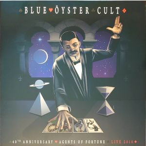 BLUE ÖYSTER CULT - 40th Anniversay - Agents Of Fortune - Live 2016 LP
