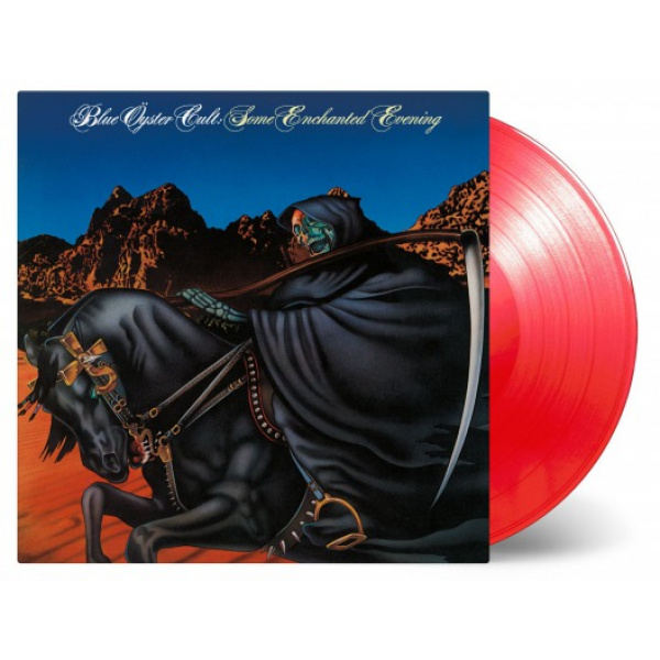 BLUE ÖYSTER CULT - Some Enchanted Evening LP UUSI Music on Vinyl 1500 numbered on transparent red vinyl