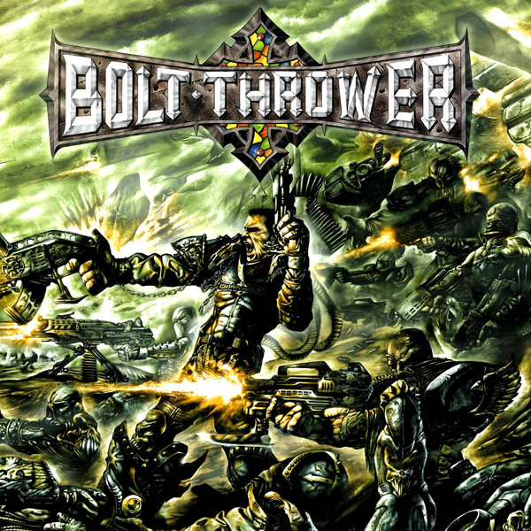 BOLT THROWER - Honour Valour Pride 2LP UUSI Metal Blade LTD 1000 CLEAR ARMORY GREEN vinyls, giant poster