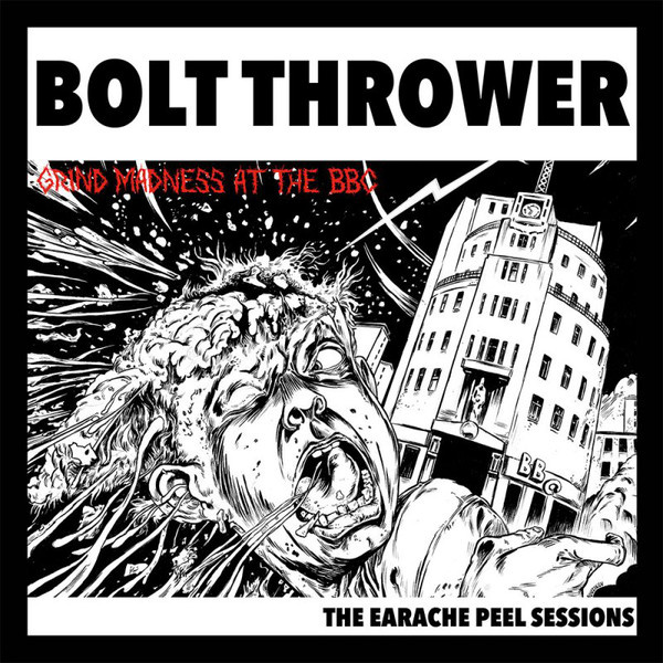 BOLT THROWER - Grind Madness At The BBC - The Earache Peel Sessions LP UUSI Earache