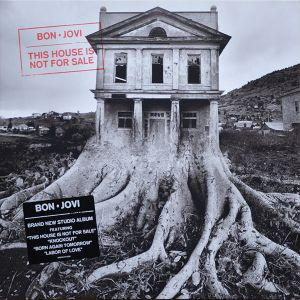 BON JOVI - This House Is Not For Sale LP Island UUSI