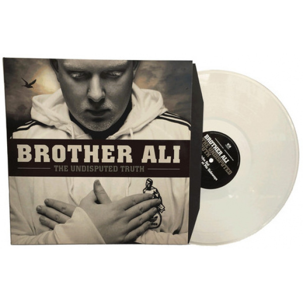BROTHER ALI - The Undisputed Truth 3LP UUSI Rhymesayers Ent LTD CLEAR vinyls RSD 2017 RELEASE