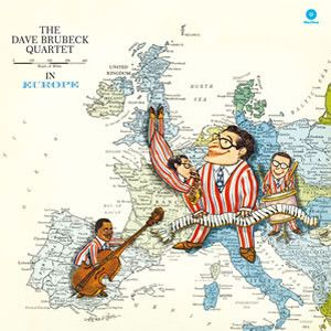 BRUBECK DAVE QUARTET - In Europe LP Waxtime Records