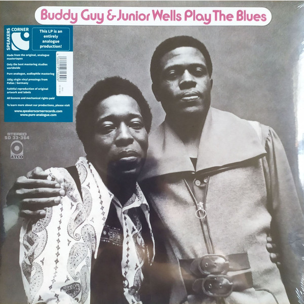 BUDDY GUY & JUNIOR WELLS - Play the Blues LP UUSI Speakers Corner Records