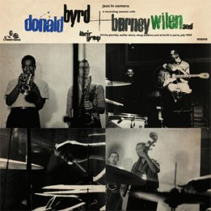 BYRD DONALD & BARNEY WILEN - Jazz in Camera LP Sonorama Records