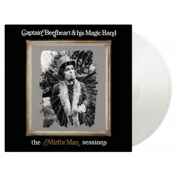 CAPTAIN BEEFHEART - Mirror Man Sessions 2LP UUSI LTD 1500 Crystal Clear Vinyl