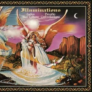 CARLOS SANTANA & ALICE COLTRANE - Illuminations LP Music On Vinyl