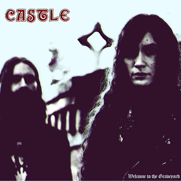 CASTLE - Welcome To The Graveyard LP Van Records LTD WHITE