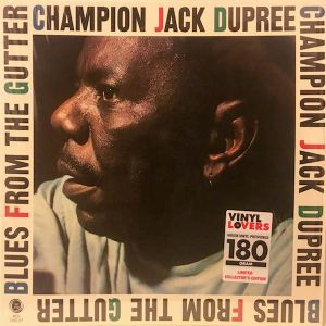 CHAMPION JACK DUPREE - Blues From The Gutter LP Vinyl Lovers